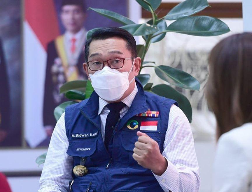 Gubernur Jawa Barat Ridwan Kamil. Foto : /Twitter/@ridwankamil.