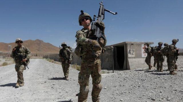 pasukan Amerika di Afganistan
