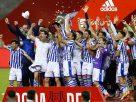 Tim Sociedad usai juara Copa Del Rey