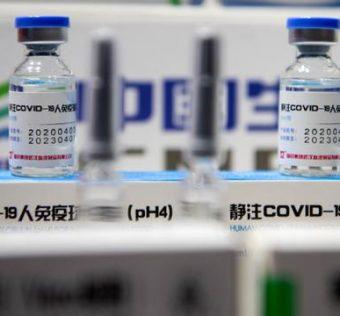 Ilustrasi vaksin buatan China