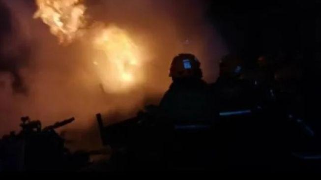 Bangunan di Lingkungan PT Pindad Bandung Terbakar