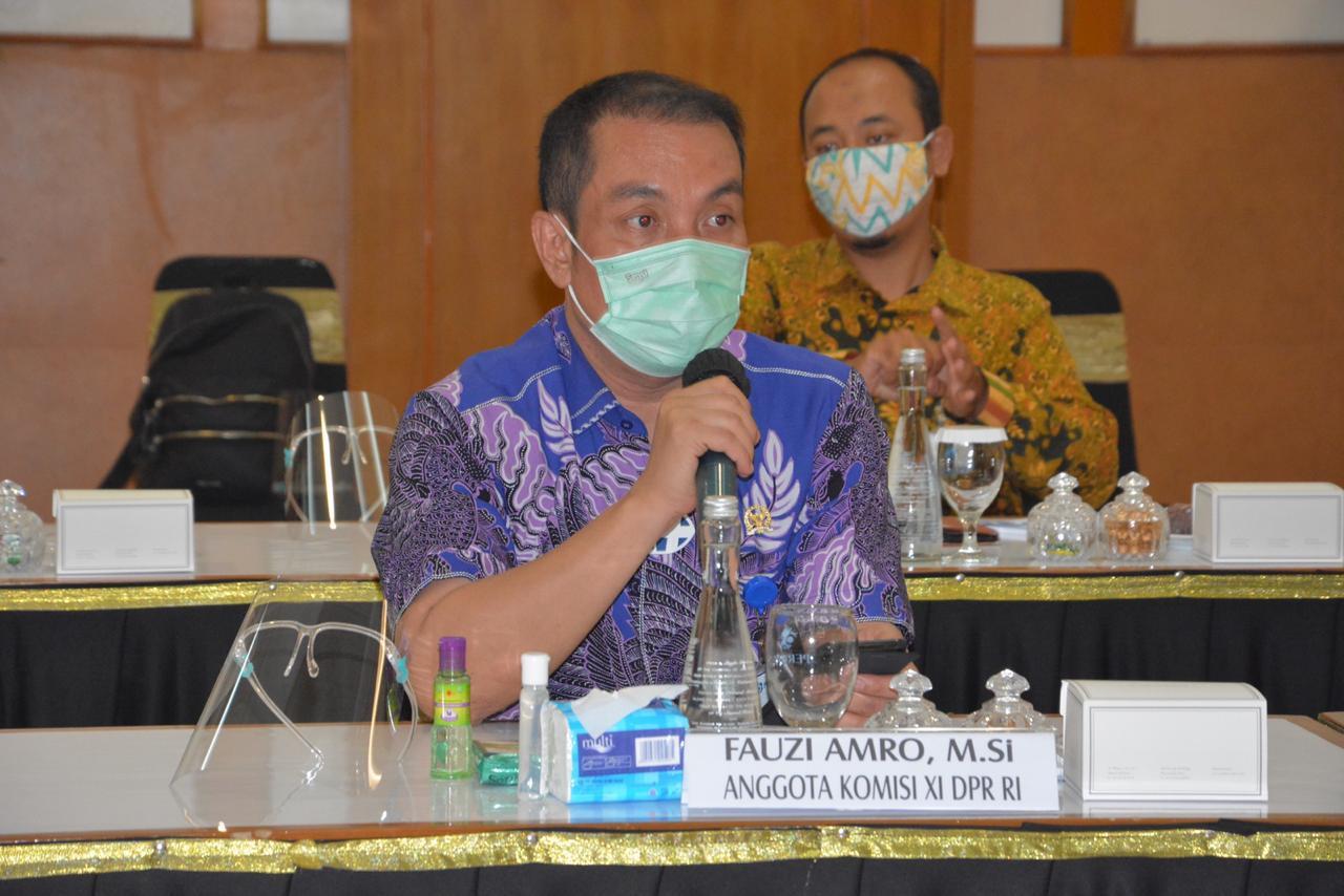 Anggota Komisi XI DPR-RI, Fauzi H Amro MSi.