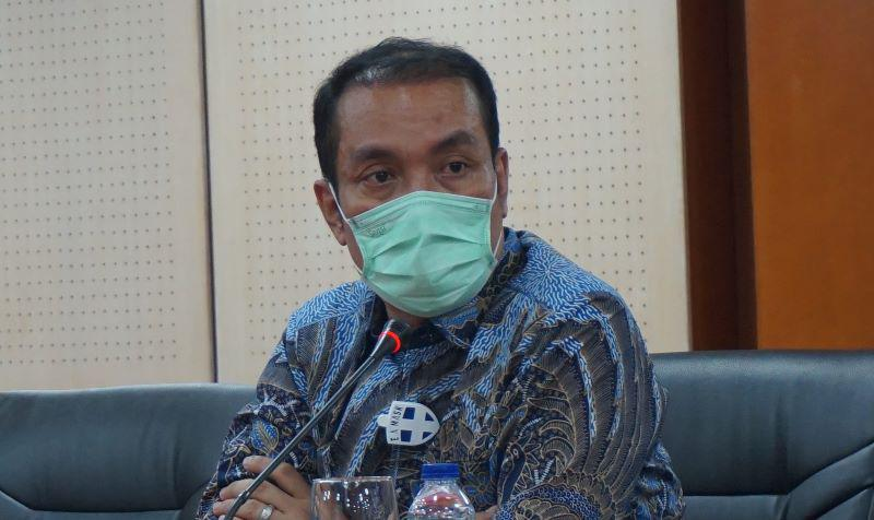 Ketua Kapoksi Fraksi Nasdem Komisi XI DPR-RI yang membidangi masalah keuangan, Fauzi H Amro M,Si